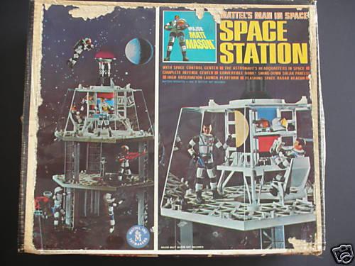 Major Matt Mason Space Station - Pics about space